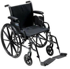 Drive Medical Cruiser III Light Weight Wheelchair W/ Flip Back Arm k316adda-sf