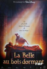SLEEPING BEAUTY - WALT DISNEY - REISSUE LARGE FRENCH MOVIE POSTER