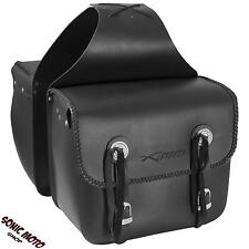 Saddle Bags Pair Motorcycle Motorbike UNIVERSAL 18 LT EACH Panniers