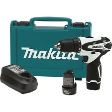 NEW Makita FD02W 12V Max Lithium-Ion Cordless 3/8-Inch Driver Drill Full Kit