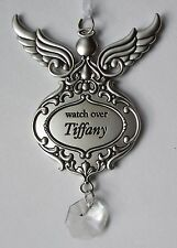 GD WATCH OVER Tiffany Guardian Angel ORNAMENT Car charm Ganz