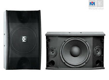 "Better Music Builder CS-500V 10"" 4500W Karaoke Speakers (Pair)"
