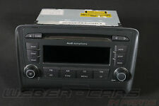 AUDI TT 8j autoradio Symphony 6 volte mp3 CD Player 8j0035195e 8j0057195e
