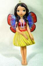 HAWAII VOLCANO HULA GIRL FAIRY FIGURINE ORNAMENT by JASMINE BECKET GRIFFITH.CUTE