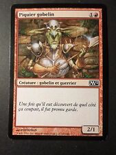 CARTE MAGIC, MAGIC CARDS, PIQUIER GOBELIN, VF, TTB