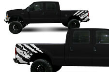 Custom Vinyl Decal Rip Wrap Kit for Ford F-250/F-350 Truck 1999-2006 Matte White