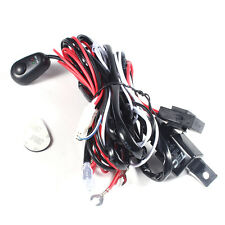12V 40A Relay Wiring Harness Work Fog Light Bar Kit ON/OFF Switch Led Spotlight