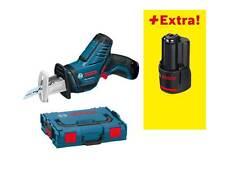 Bosch Akku Säbelsäge GSA 10,8 V-LI Professional in L-Boxx + 1x Akku 10,8 2,0 Ah