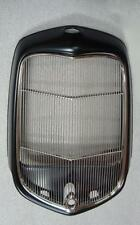 1932 Ford Hot Street Rod Steel Radiator Shell w/ Hole + SS Grille Insert w Hole