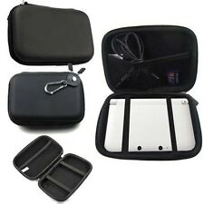 Black Hard Shell Faux Leather Case Cover for Garmin Nuvi 50 and 50 LM GPS