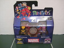 Marvel Minimates PayBack Wolverine and Classic Sentinel Exclusive Set