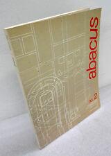 ABACUS n.2 febbraio 1986.Rivista bimestrale[architettura,ingegneria,progetti
