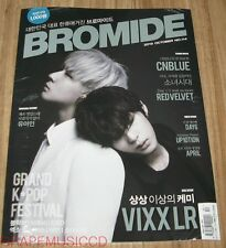 BROMIDE VIXX LR GIRLS' GENERATION RED VELVET K-POP MAGAZINE 2015 OCT OCTOBER NEW