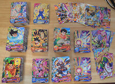 Dragon Ball Heroes DBH Lot 100 cartes (Commune, Rare, Minimum 1 SR, CP & Promo)