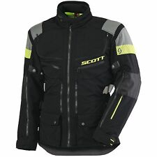 GIACCA MOTO SCOTT ALL TERRAIN PRO DP NERO GRIGIO IMPERMEABILE WATERPROOF TG XL