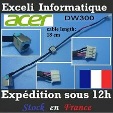 Connecteur alimentation dc power jack socket cable wire dw300 ACER Aspire 5250