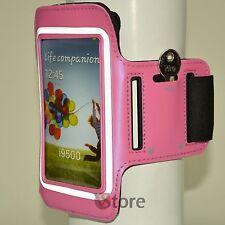 Fascia Da Braccio Per Samsung Galaxy S4 S3 Custodia Sport da Corsa Armband Rosa