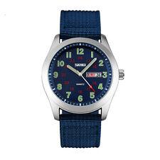 SKMEI 9112 Waterproof Stainless Steel Analog Quartz Wristwatch Military Watch
