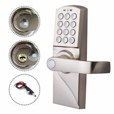 Digital Electronic/Code Keyless Keypad Security Right Handle Entry Door Lock Kit