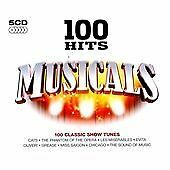 Various Artists : 100 Hits: Musicals (5CDs) (2009)