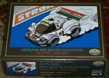 Mitsuwa Mid Racer Collection CASTROL JAGUAR XJR9  pull back motorized model 1/43