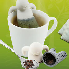 Tea Silicone Infuser Loose Tea Coffee Leaf Strainer Herbal Spice Filter Diffuser