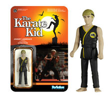 FUNKO REACTION THE KARATE KID JOHNNY LAWRENCE VINTAGE RETRO FIGURE NEW!