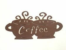 Coffee Sign Metal Art, Made in USA, Real Steal!