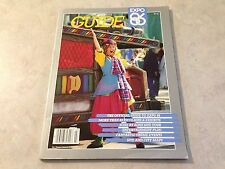 Expo 86 Official Souvenir Guide Magazine Vancouver BC Canada World Exposition!!!
