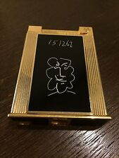 S.T. Dupont Picasso Jeroboam Tischfeuerzeug Table Lighter Limited Edition 1998