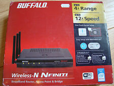 Buffalo WZR2-G300N Nfiniti Wireless N Router Access Point