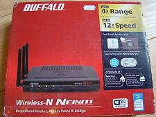 Buffalo WZR2-G300N NFINITI Punto De Acceso Inalámbrico N Router