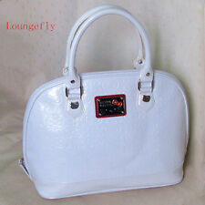 HelloKitty Loungefly Handbag Tote  Shoulder Bag 2016  New White  Patent Leather