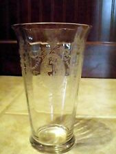 Morgantown Sunrise Medallion Nude Dancing Girl 12oz Tumbler Ice Tea *Excellent