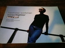 HAWKSLEY WORKMAN - Plan média / Press kit !!! LOVER / FIGHTER !!!