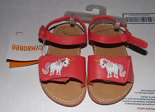 GYMBOREE UNICORN GARDEN SANDALS SHOES SIZE 7 NWT