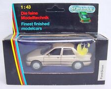 Schabak Germany 1:43 FORD ESCORT ORION Detailed Model Car #1092 #4 MIB`92 RARE!