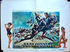 THUNDERBALL JAMES BOND Belgian movie poster SEAN CONNERY RARE McCARTHY McGINNIS