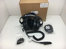 Globe Roamer Motorola PMLN5276 GP Series Heavy Duty Over-Ear Headphones with PTT