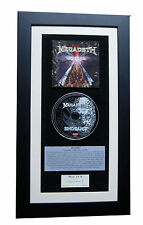 MEGADETH Endgame CLASSIC CD Album GALLERY QUALITY FRAMED+EXPRESS GLOBAL SHIP