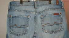 Womens Seven 7 for All Mankind Jeans Boot Low Size 26 Actual 28X31.5