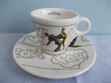 "1 Lavazza espresso cup + saucer serie ""The Most Incredible"" to collect them all"