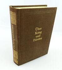 Minibuch: Über Krieg und Frieden, Militärverlag der DDR Eichelberger e360