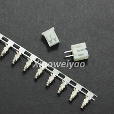 100sets JST Straight PH 2.0 2-Pin 2P Connector Pin Header + Housing + Terminal