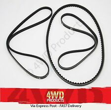 Fan/Drive Belt SET - for Nissan Pathfinder R50 3.3-V6 VG33E (95-05)