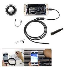 5M Mini Android HD Endoscope Waterproof Tube Camera 6 LED Micro USB Borescope