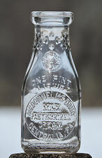McDONNELL'S DAIRY CENTRALIA, PA. EARLY GHOST TOWN SLUG PLATE MILK CREAM BOTTLE