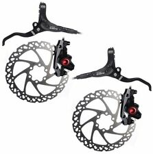 Clarks M2 Hydraulic Disc Brake System 180mm Set Front & Rear New