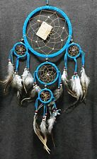 """Dream Catcher wall hanging decoration ornament feathers bead feather long 22 """""""