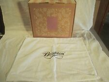 BRIGHTON Collectibles Handbag Purse EMPTY Storage Box Cathy Tote Canvas